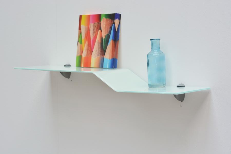 design glasregal scalino gebogenes regal jetzt kaufen. Black Bedroom Furniture Sets. Home Design Ideas
